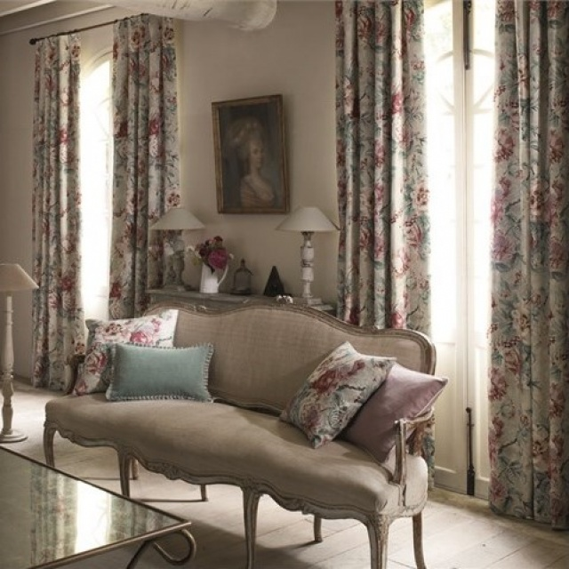 Sanderson Fabienne Prints & Embroideries
