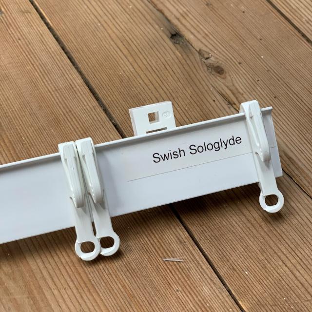 Swish Sologlyde PVC Track