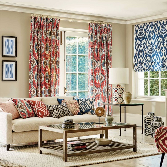 Sanderson Caspian Prints & Embroideries