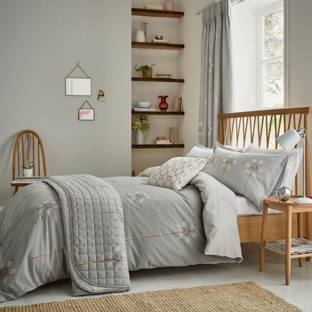 Sanderson Thalia Grey Bedding