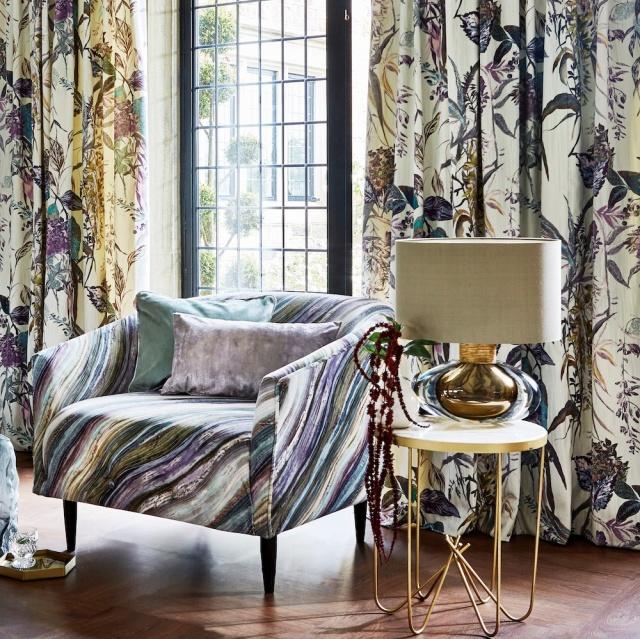 Prestigious Copper Falls Fabrics