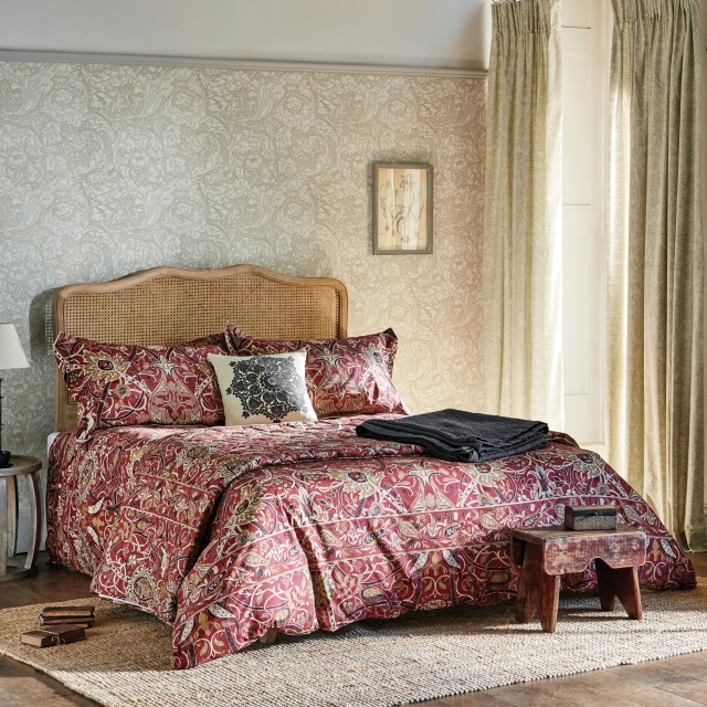 William Morris Bullerswood Paprika Bedding