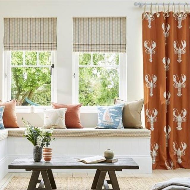 Sanderson Home Herring Fabrics