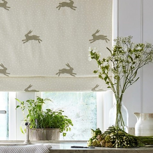 Sanderson Home Potting Room Prints & Embroideries