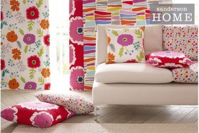 Sanderson Home Papavera Prints & Embroideries