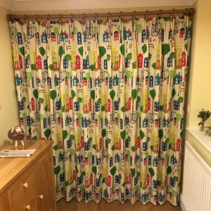 Jubilee Square Door Curtain