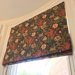 Morris & Co Compton Roman Blinds