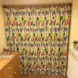 Jubilee Square Door Curtain