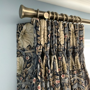 Pimpernel Pinch Pleated Curtains