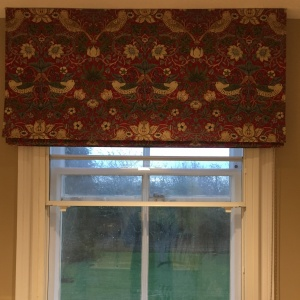 Strawberry Thief Roman Blind