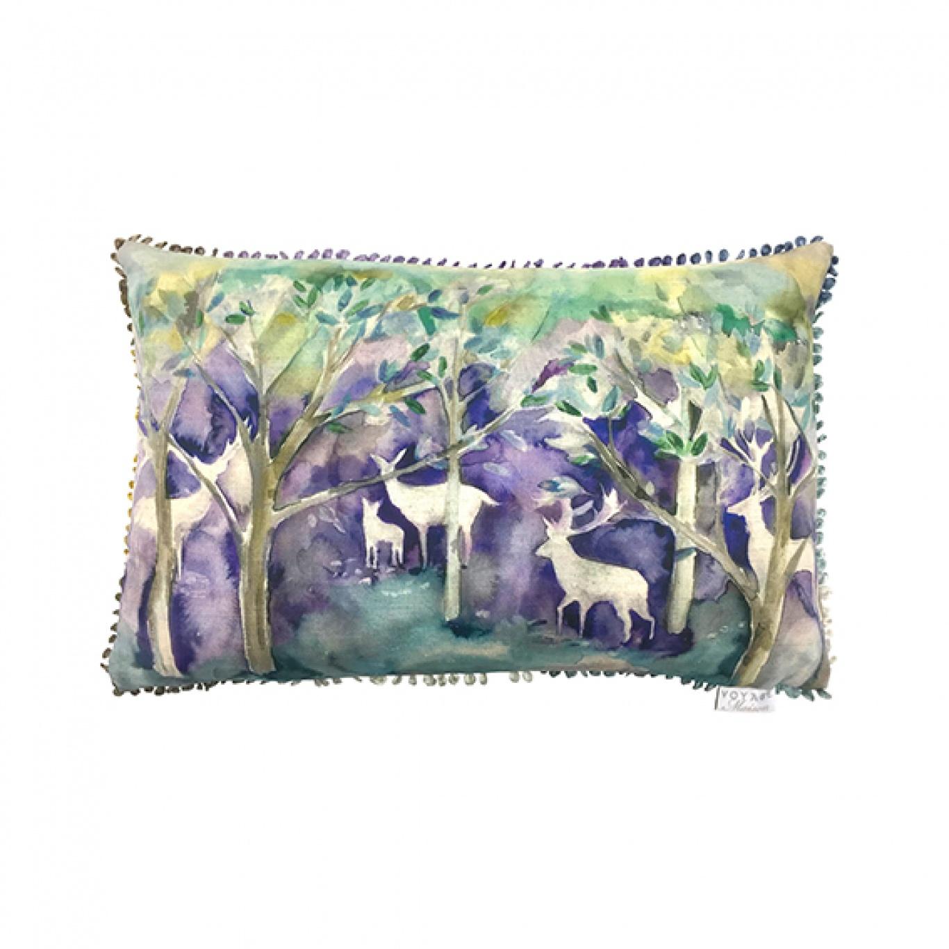 Image of Voyage Seneca Forest Winter Cushion