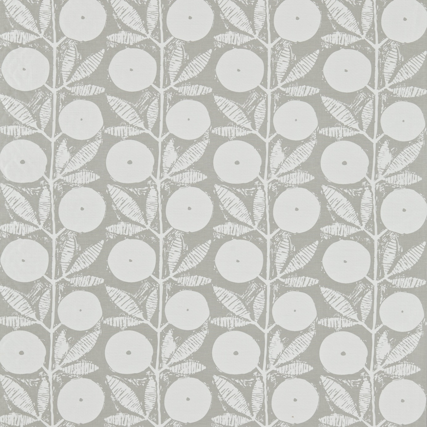 Image of Scion Somero Pewter/Pumice Curtain Fabric 131535