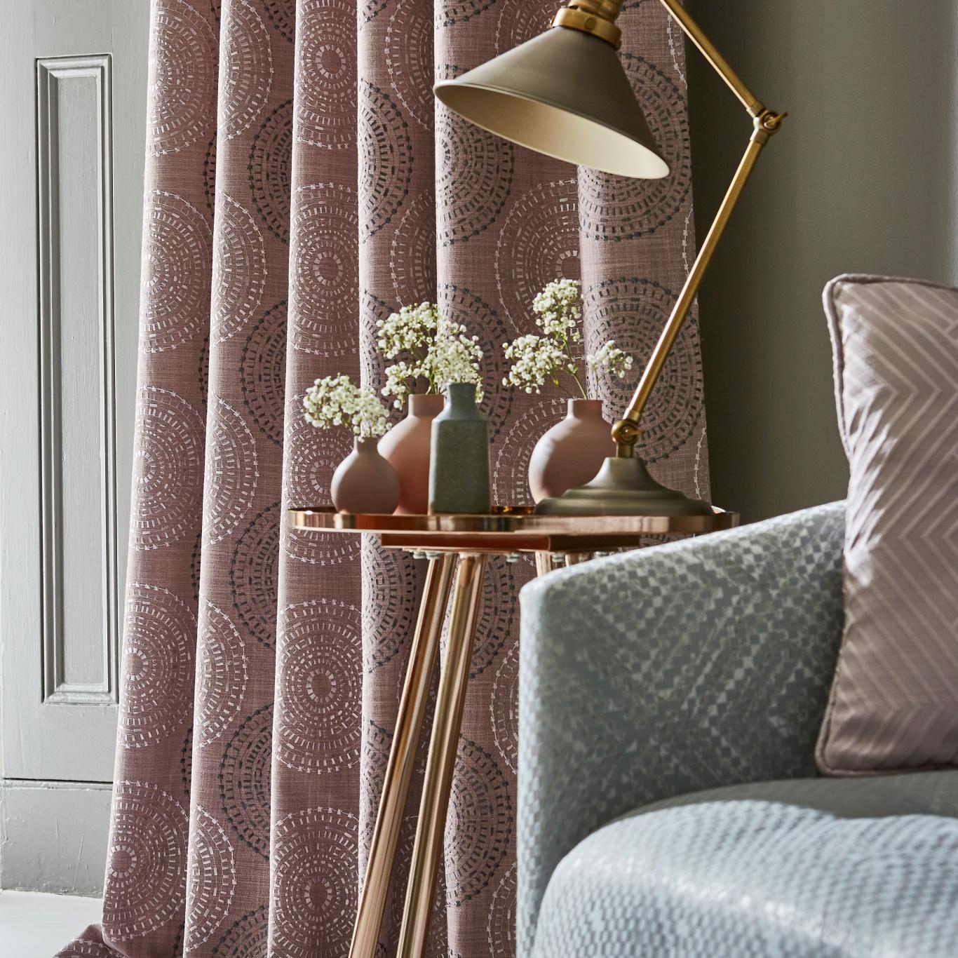 Prestigious Hemisphere Rose Fabric 3796/204