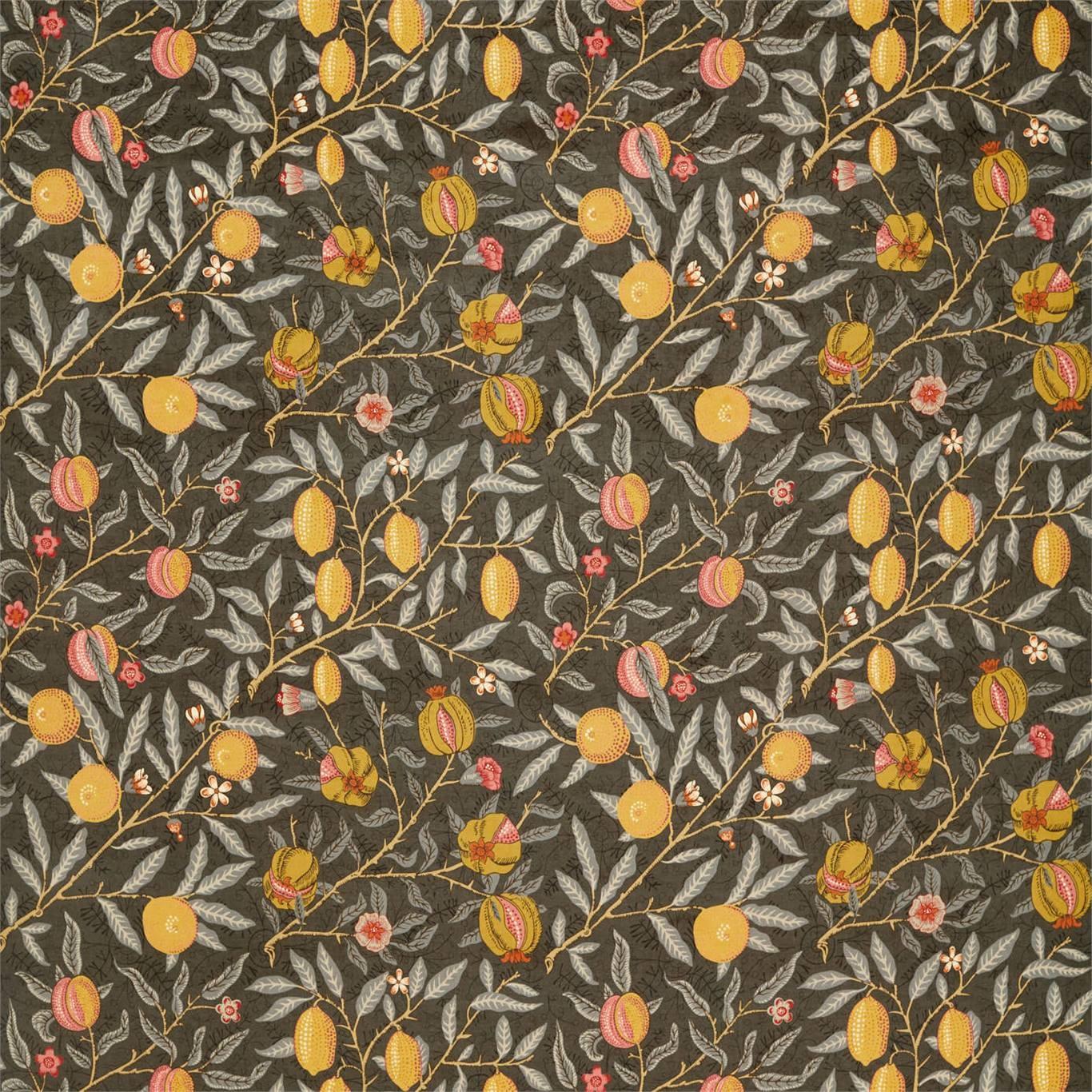 Image of Morris & Co Fruit Velvet Walnut/Bullrush 236926