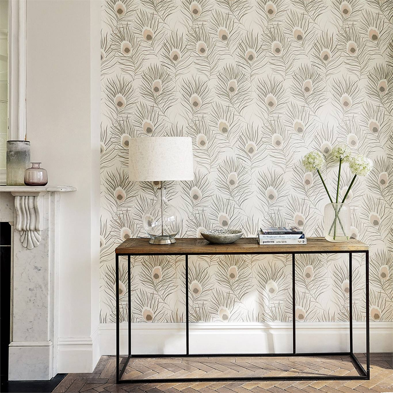 Harlequin Orlena Rosegold/Pearl Wallpaper 111878