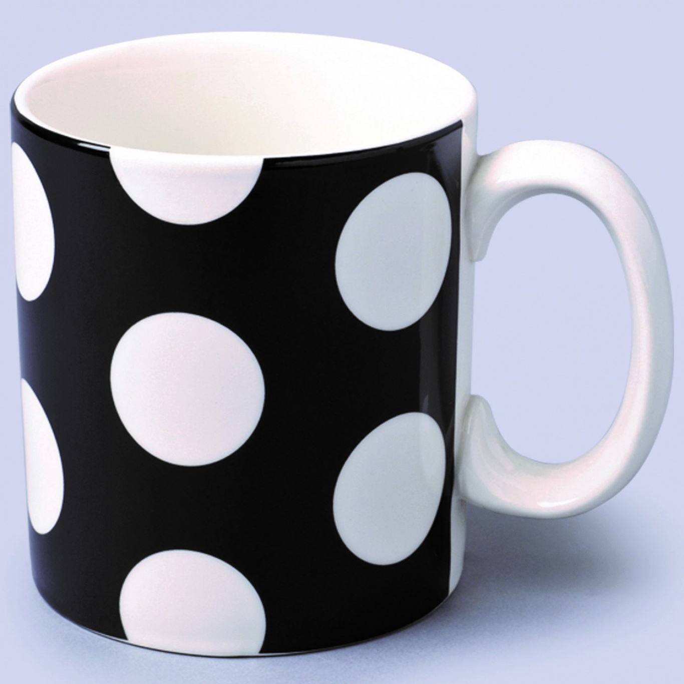 Image of 1 Pint Extra Large Mug Black Spot