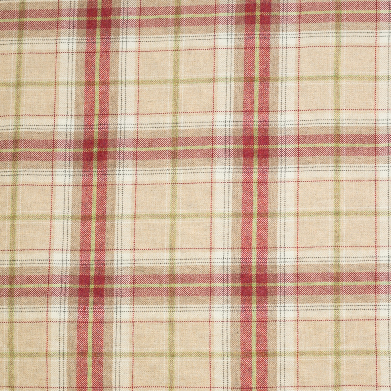 Image of Chess Designs Balmoral Raspberry Fabric