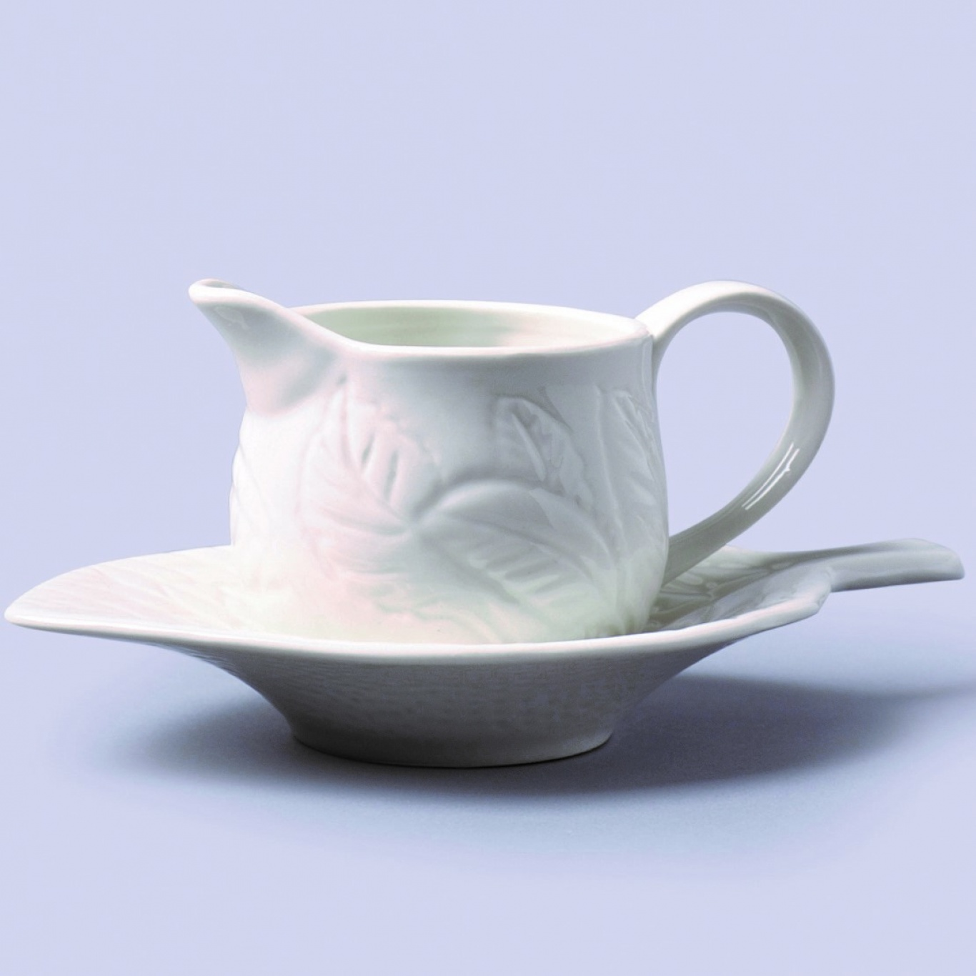 Image of Mint Sauce Boat/Jug with Stand 150ml