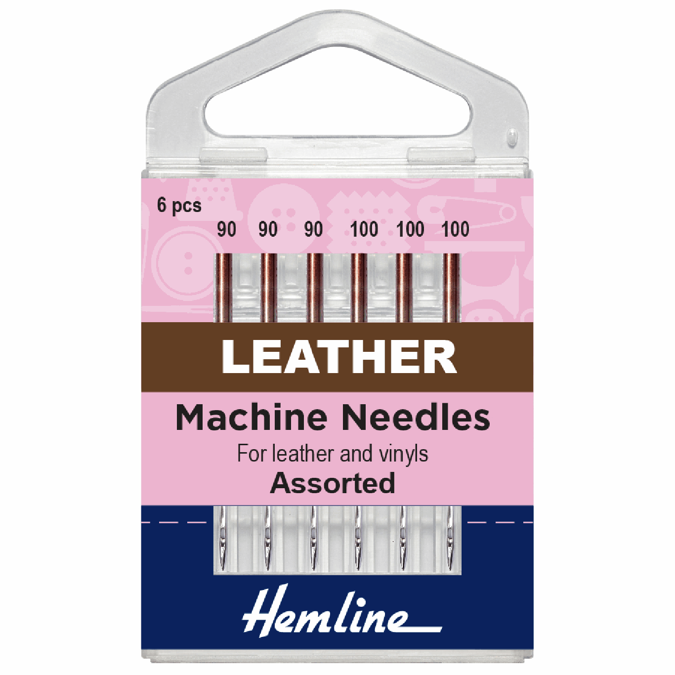 Image of Leather Sewing Machine Needles | Mixed Size | 5 Pieces
