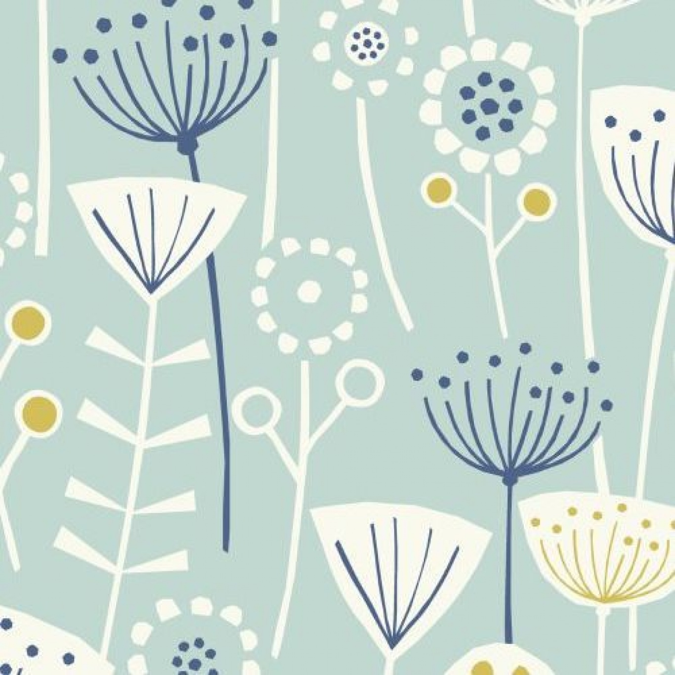 Image of Fryett's Bergen Seafoam Fabric