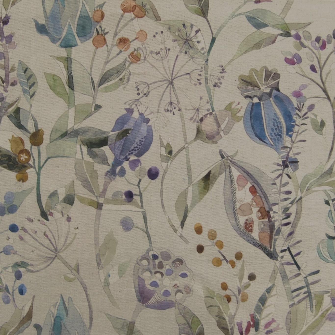 Image of Voyage Kelston Capri Linen Curtain Fabric
