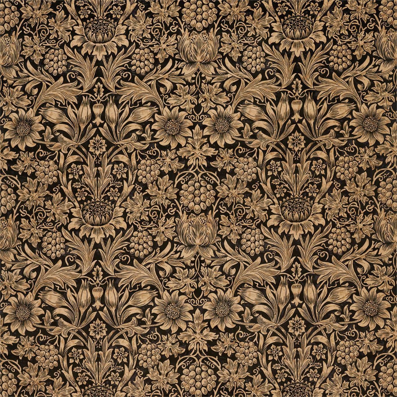 Image of Morris & Co Sunflower Velvet Maple/Lichen 236929