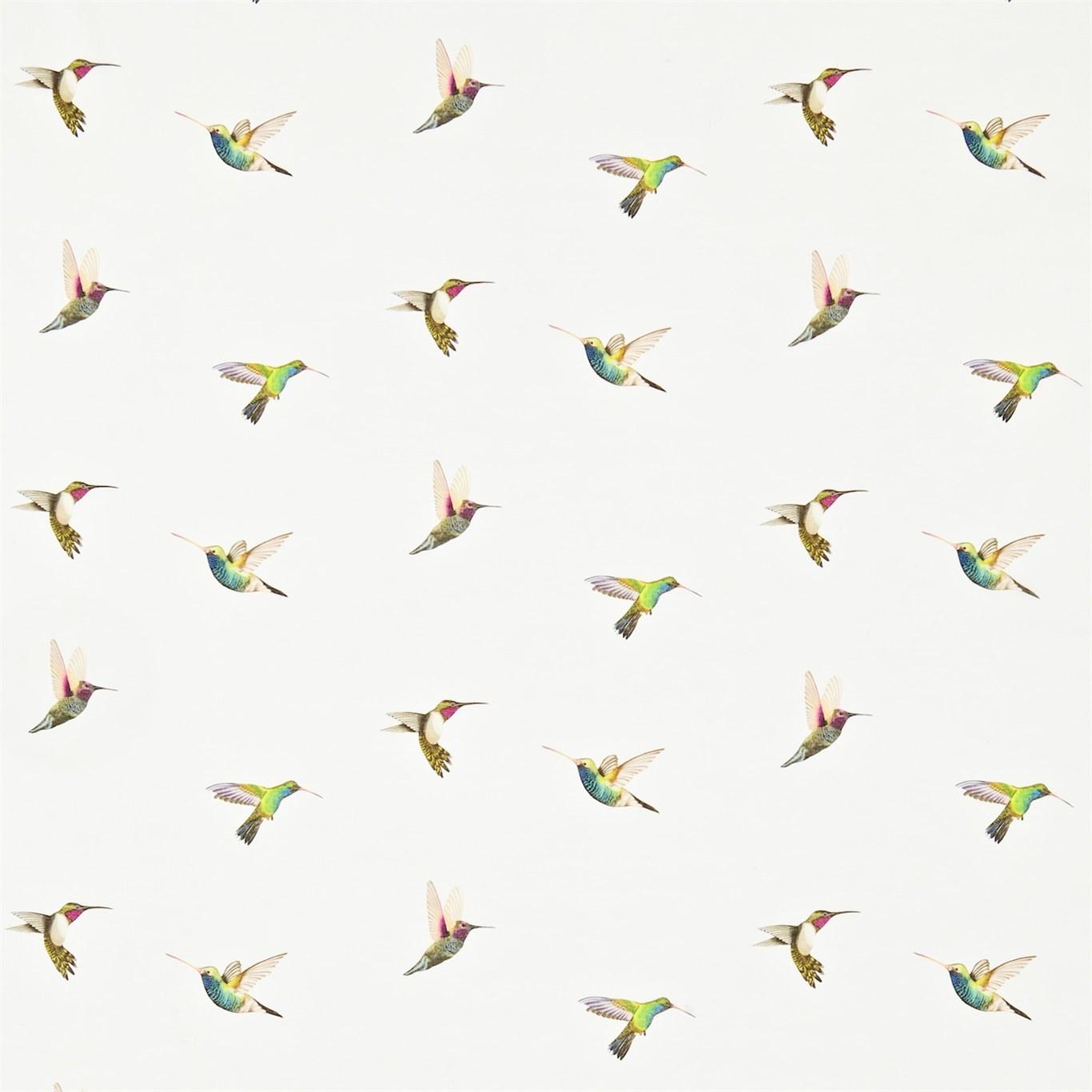 Image of Harlequin Amazilia Flamingo/Papaya/Apple Curtain Fabric 120350