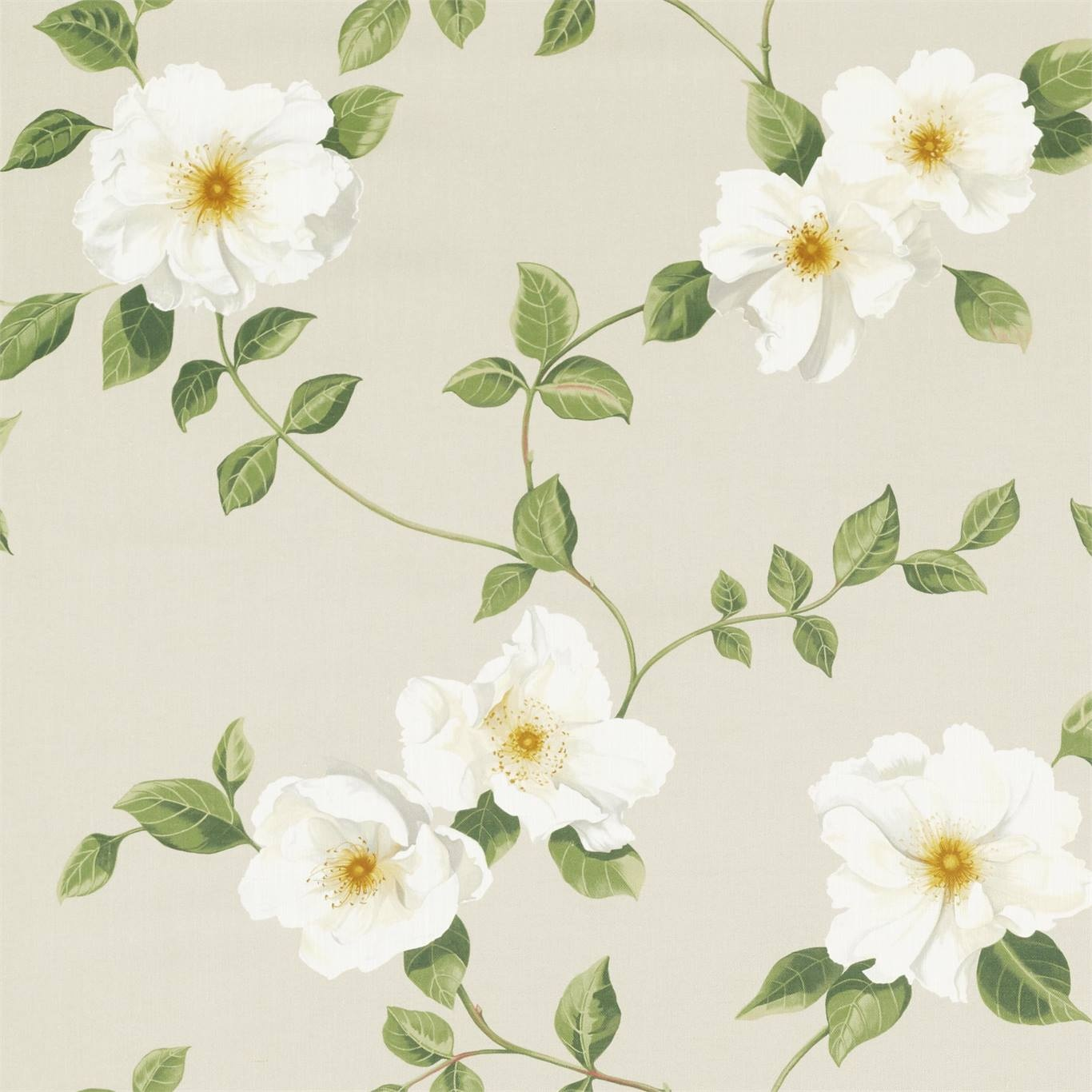 Image of Sanderson Poet's Rose Linen Fabric 226738
