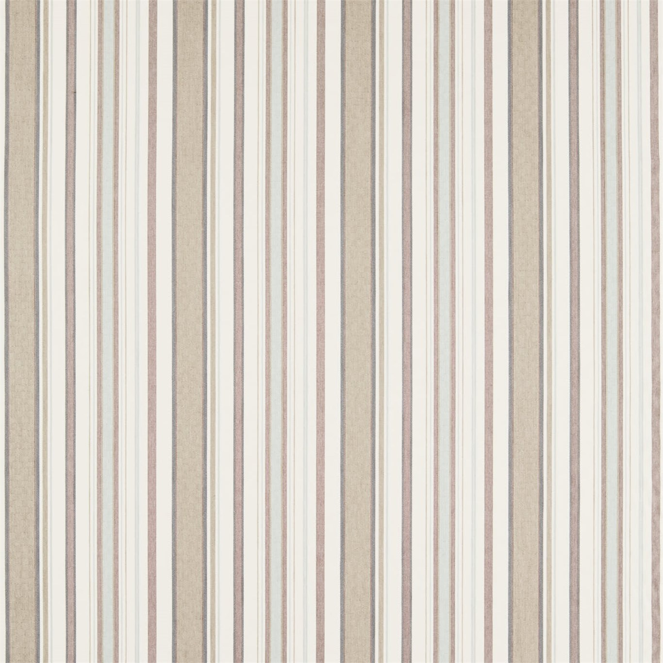 Image of Sanderson Home Dobby Stripe Mineral Curtain Fabric 235894