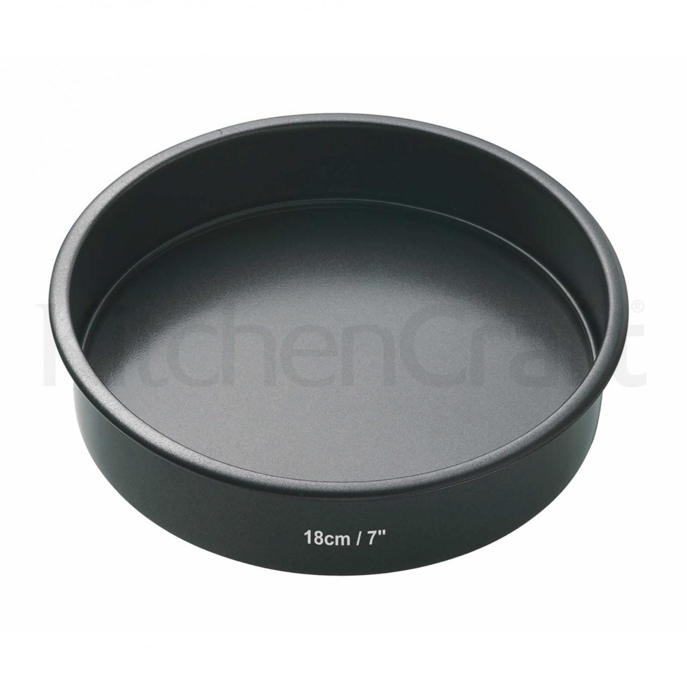 Image of Non Stick Round Sandwich Pan 18cm/7ins