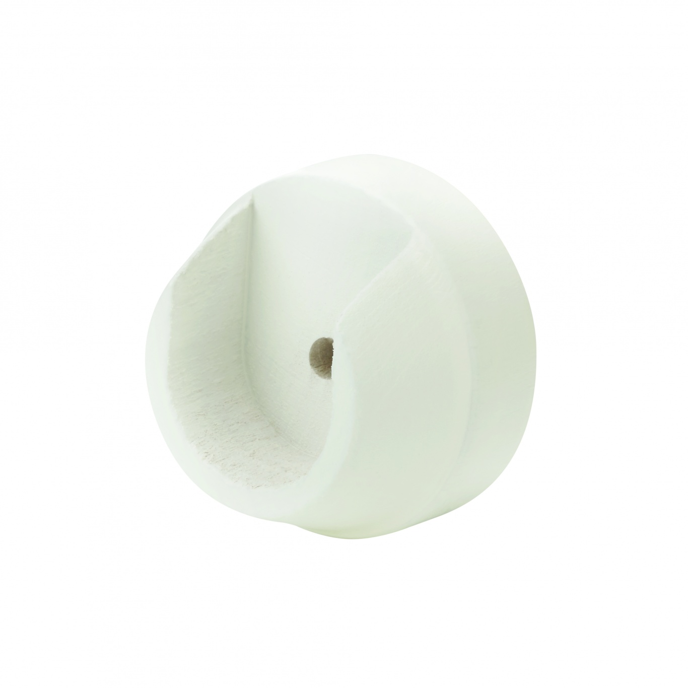 Image of Painted 28mm Recess Bracket Pair Linen White