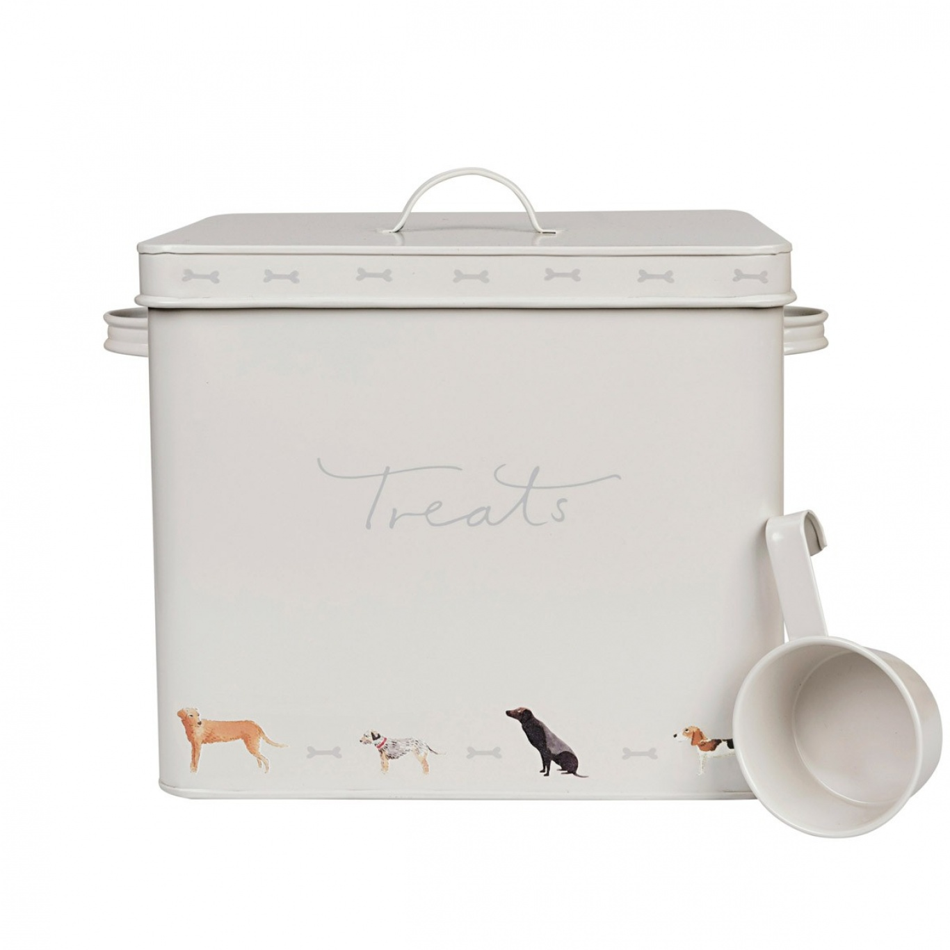 Image of Sophie Allport Dog Treat Tin - Woof!