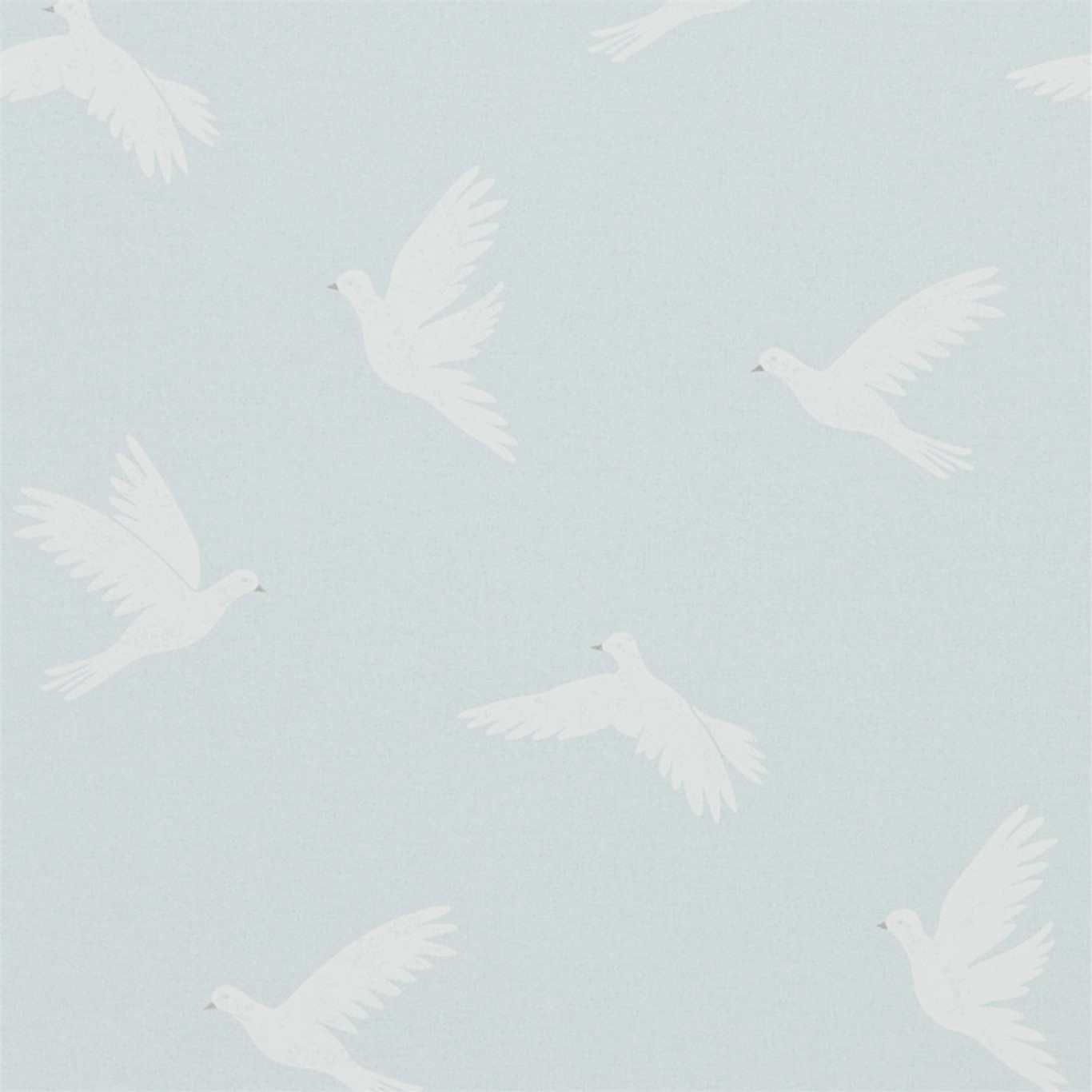Image of Sanderson Home Paper Doves Mineral Wallpaper 216379