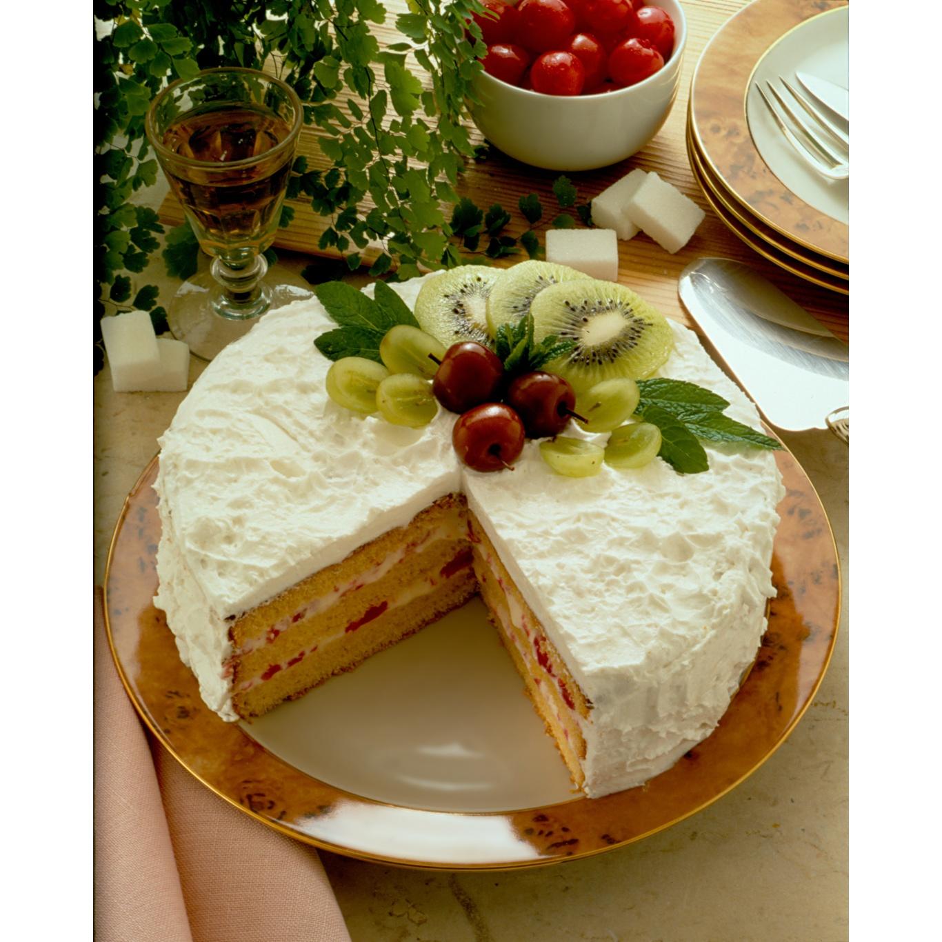 Silverwood Round Sandwich Pan Loose Base 12ins/30cm