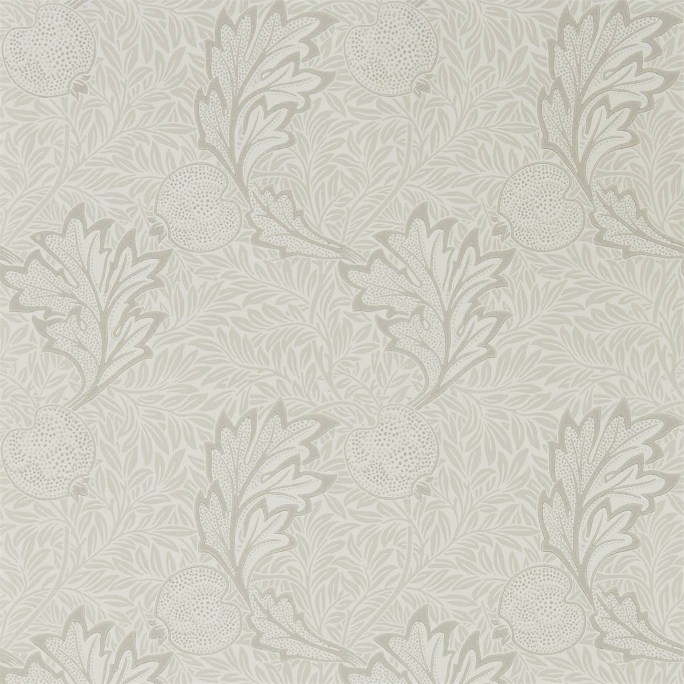 Image of Morris & Co Apple Chalk Ivory Wallpaper 216692