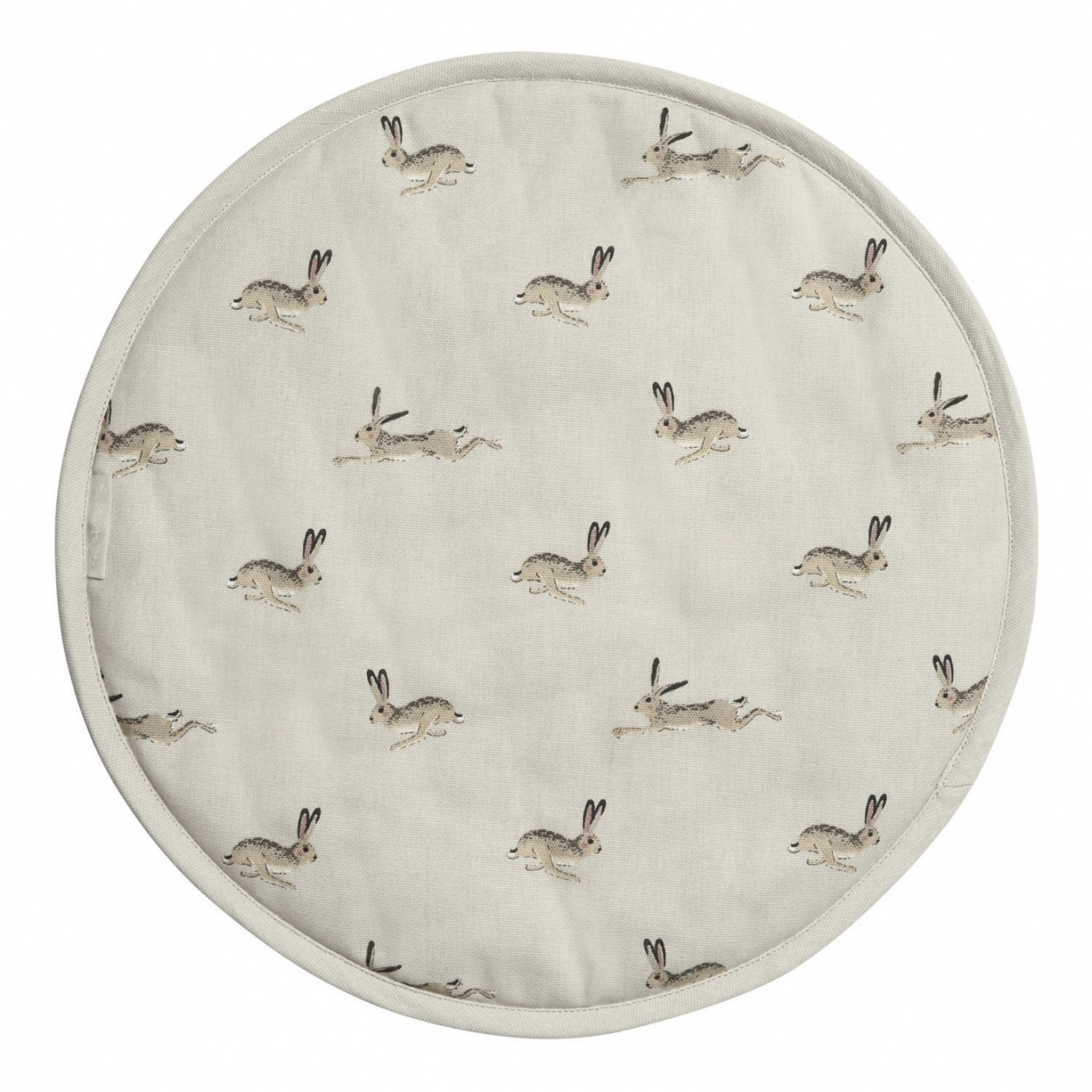 Image of Sophie Allport Hares Round Hob Cover