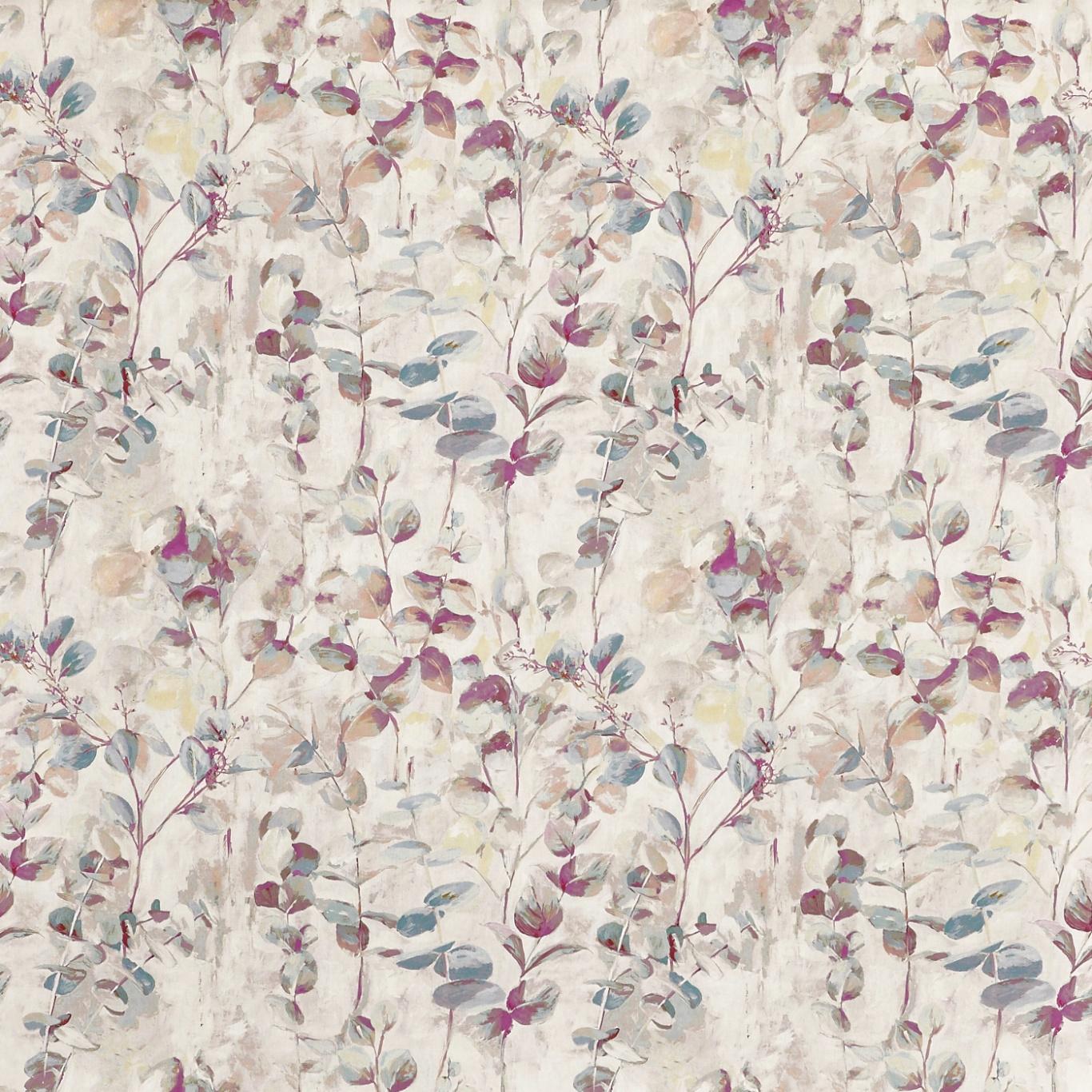 Image of Prestigious Aquarelle Wild Rose Fabric 8675/254
