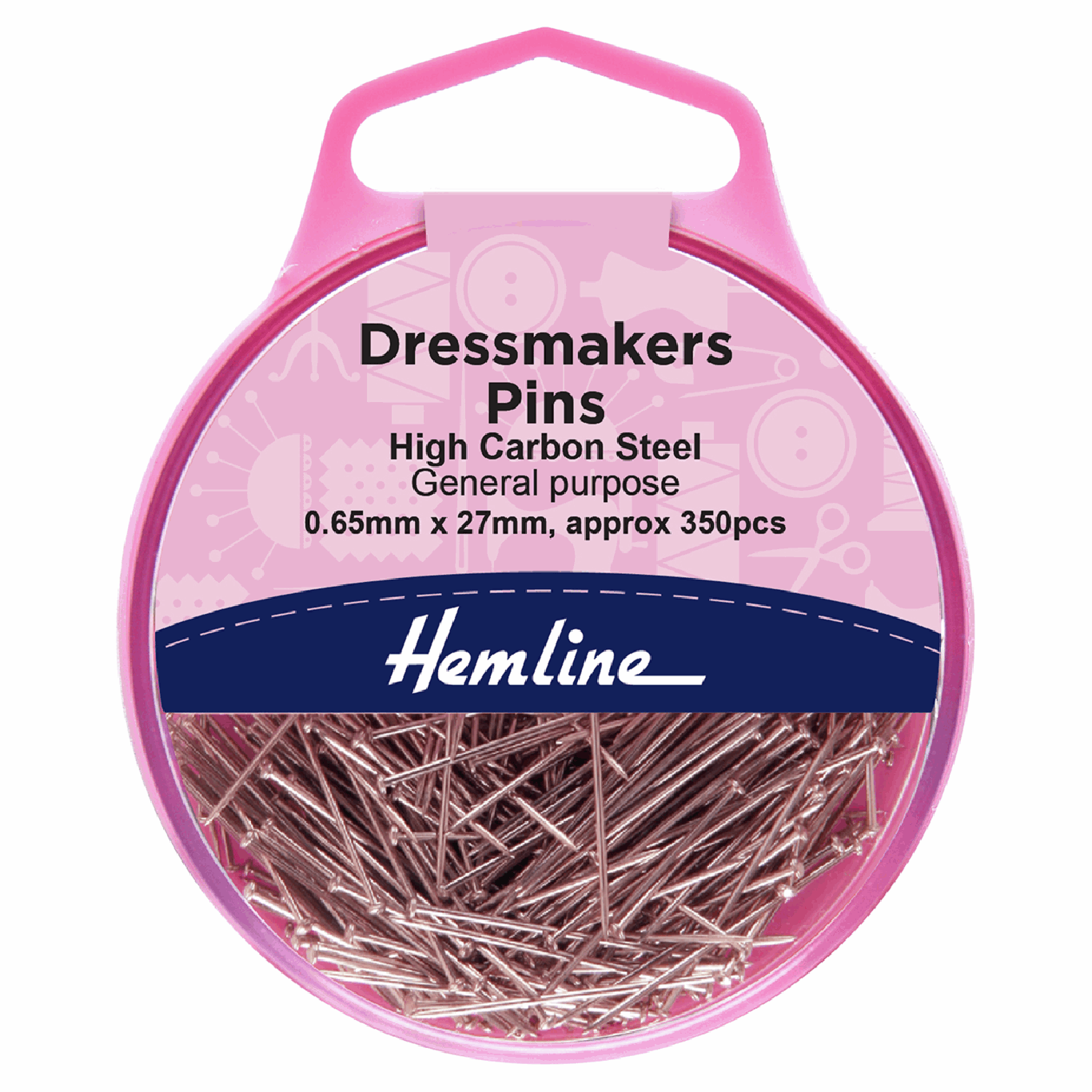 Image of Dressmaker's Pins | 26mm | 310 Pieces