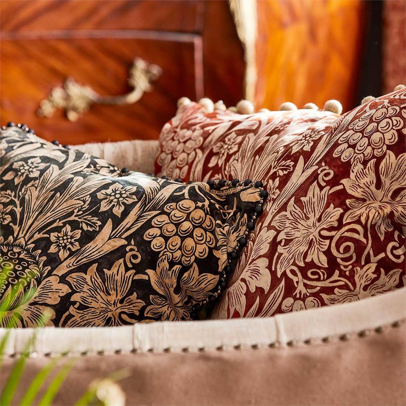 Morris & Co Sunflower Velvet Maple/Lichen 236929