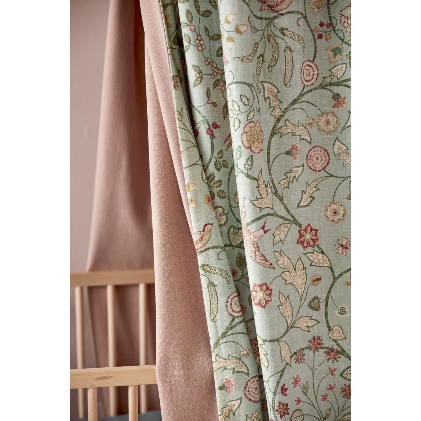 Morris & Co Newill Lemon Fabric 226587