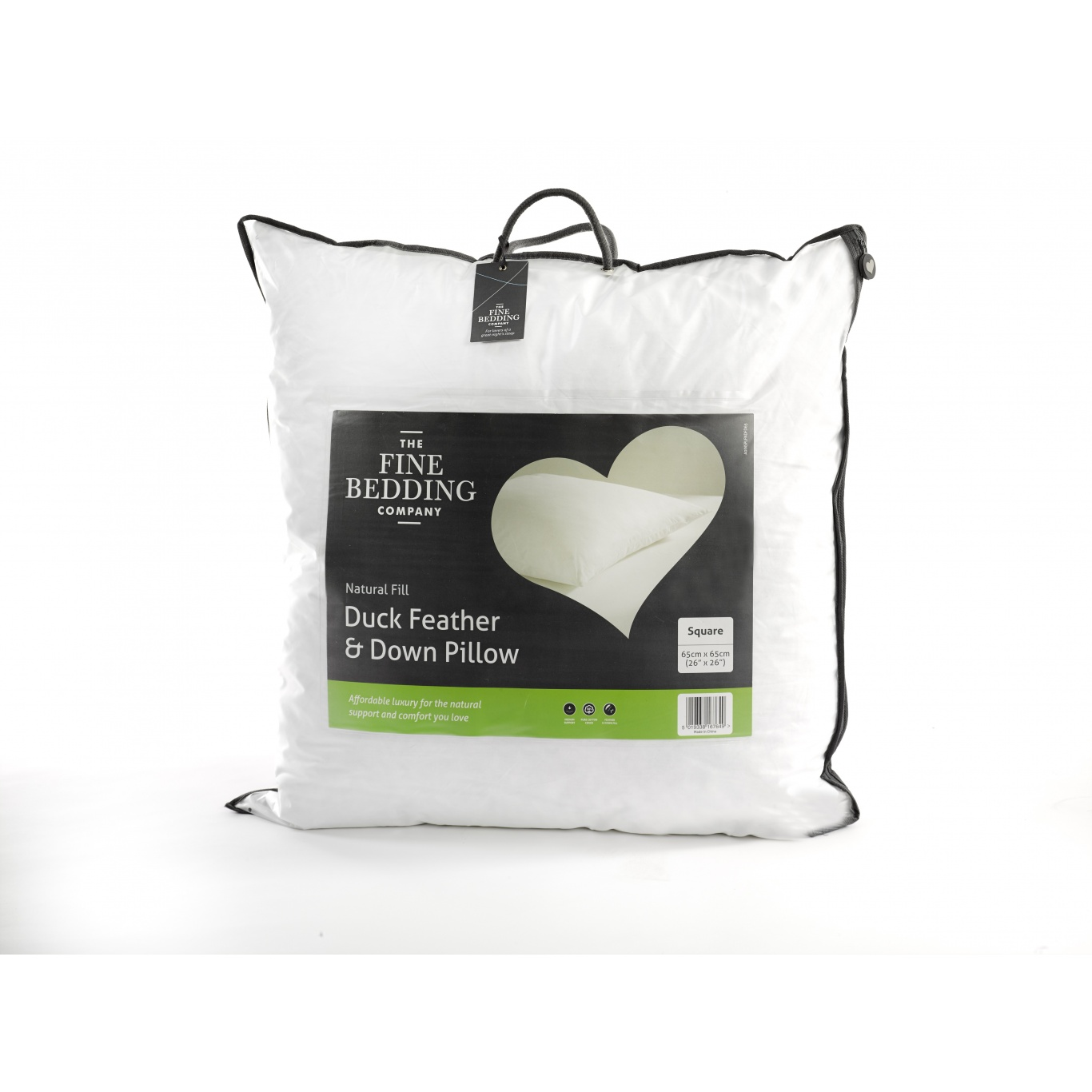 Image of Duck Feather & Down Square Pillow