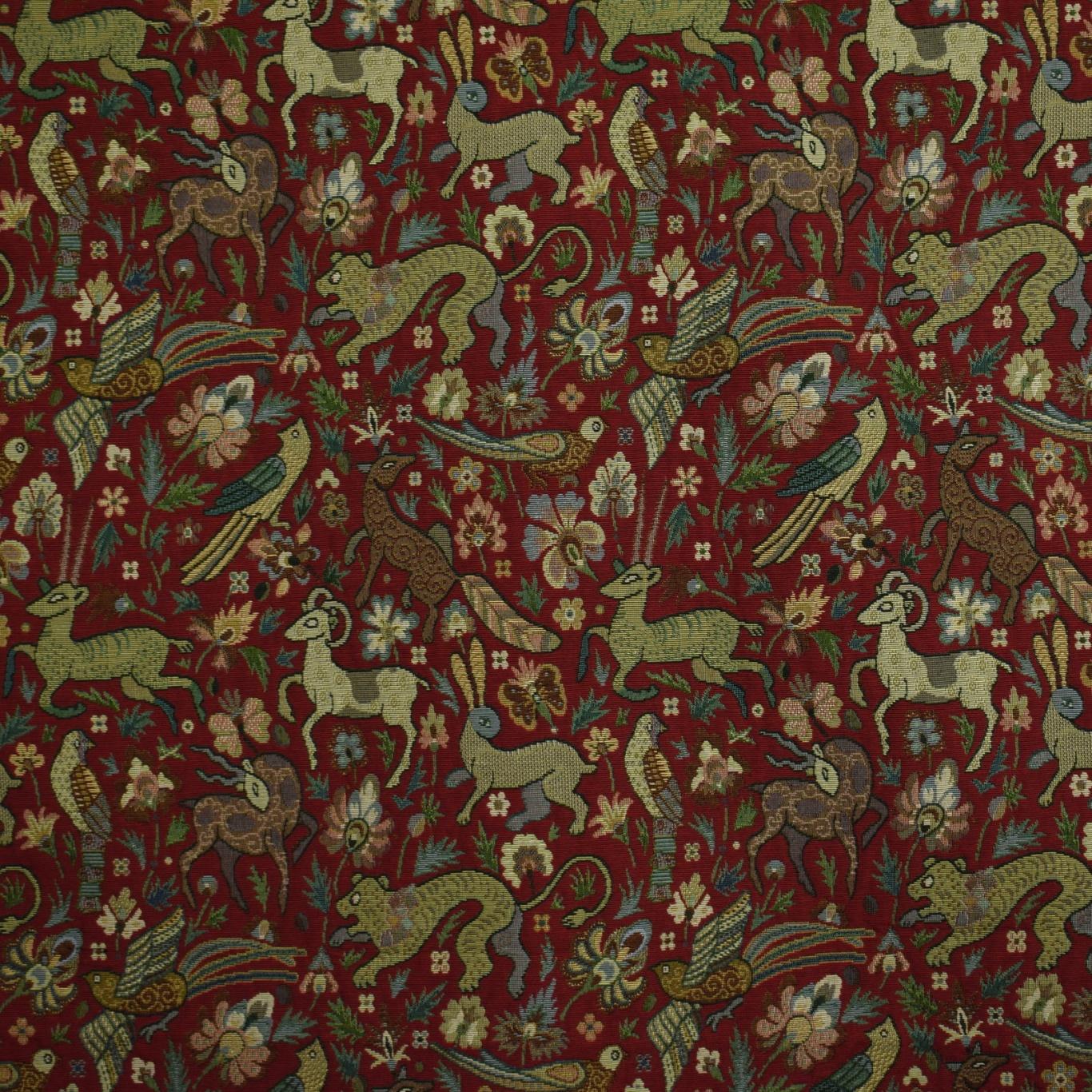 Image of Gordon Smith Bangalore Red Fabric