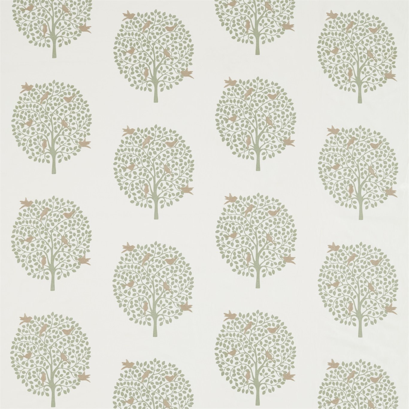 Image of Sanderson Home Bay Tree Celadon Fabric 236431