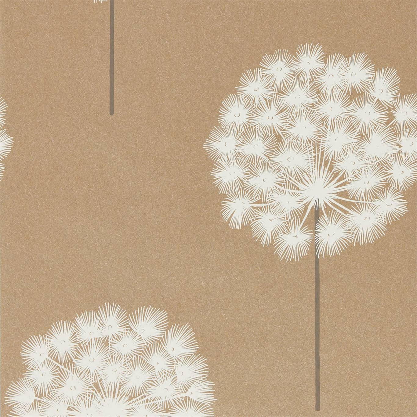 Image of Harlequin Amity Brass/Pewter Wallpaper 111913