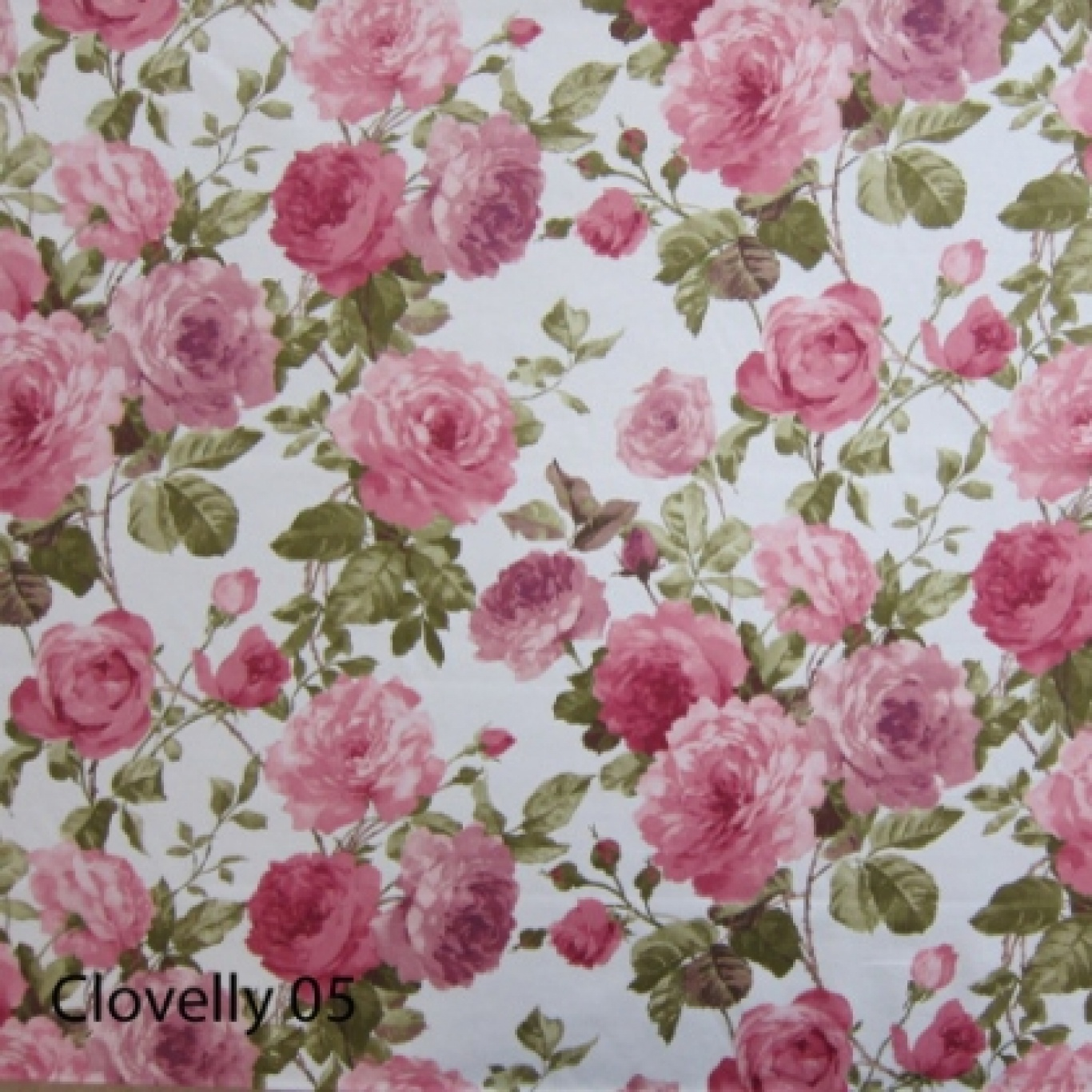 Image of Crowson Cloverlly Colour 5 Curtain Fabric