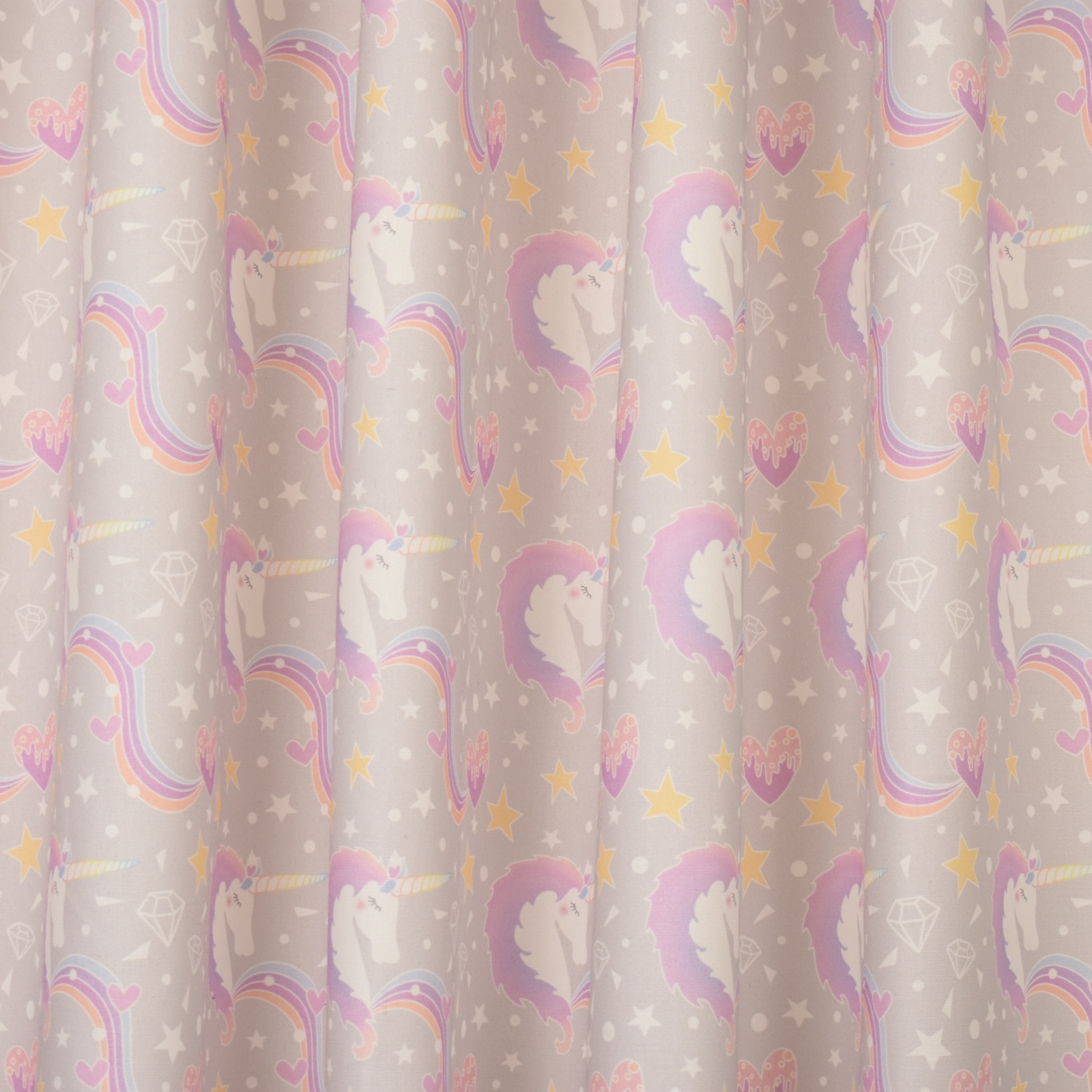 Gordon Smith Unicorn Fabric 1.8m Remnant