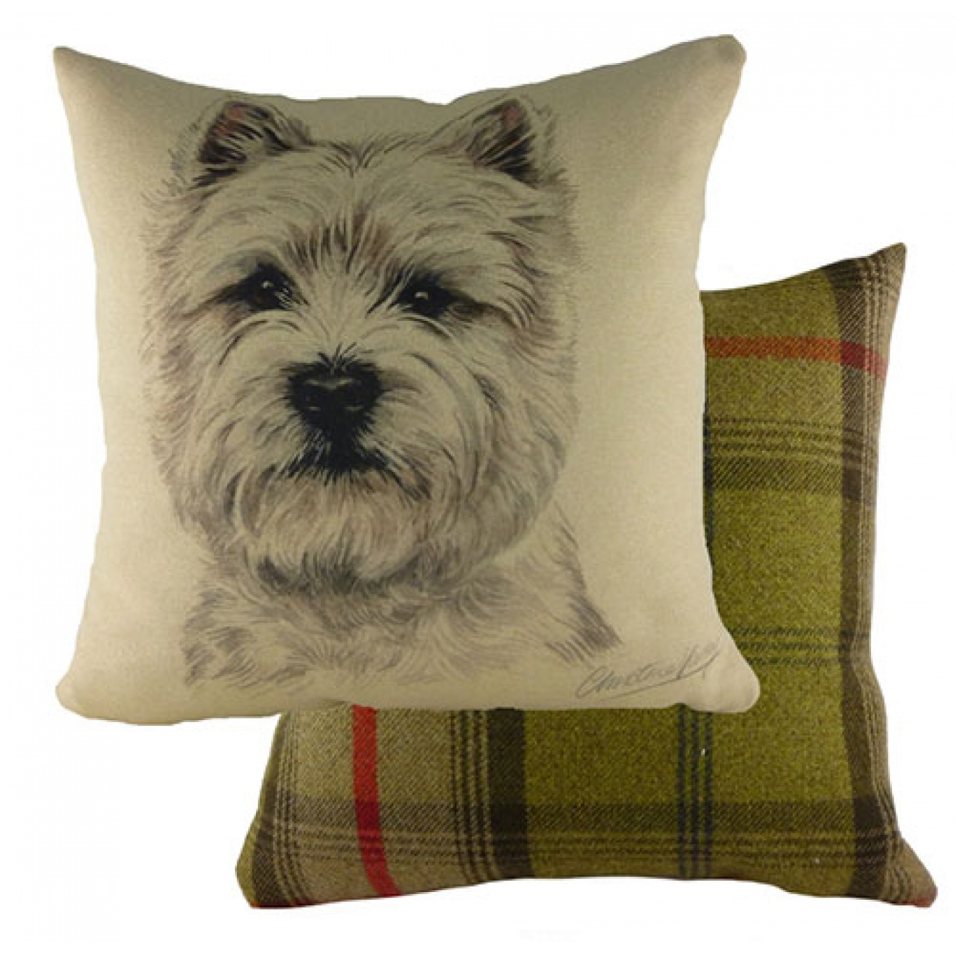 Image of Waggy Dogz Westie Cushion Cover