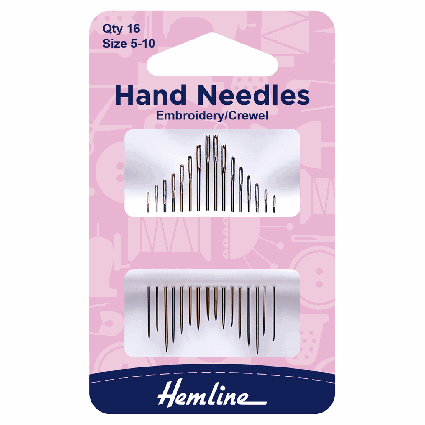 Image of Embroidery/Crewel Hand Sewing Needles | Size 5-10