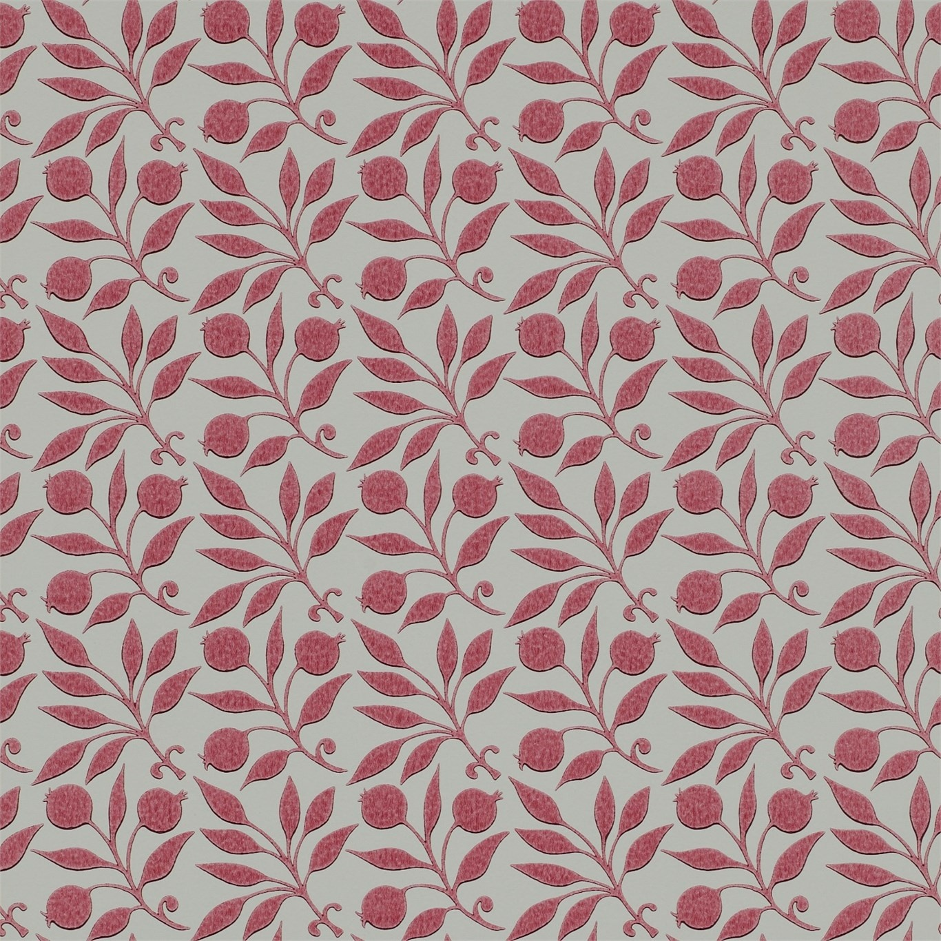 Image of Morris & Co Rosehip Rose Wallpaper 214705
