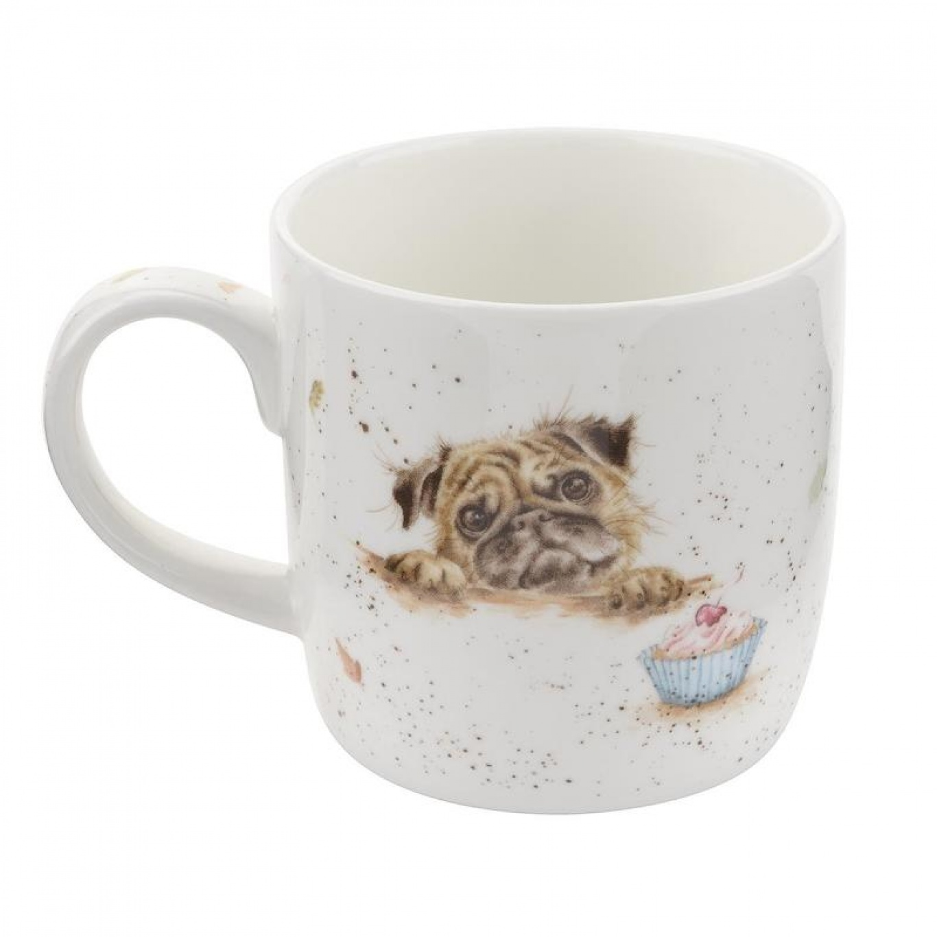 Image of Pug Love Wrendale Mug